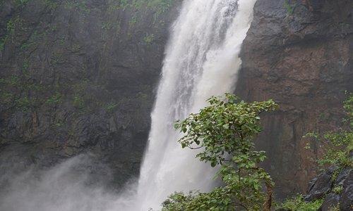 waterfalls near mumbai  rainy water