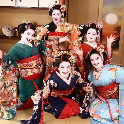 Maiko and Geisha makeover experience Winter 舞妓体験 冬
