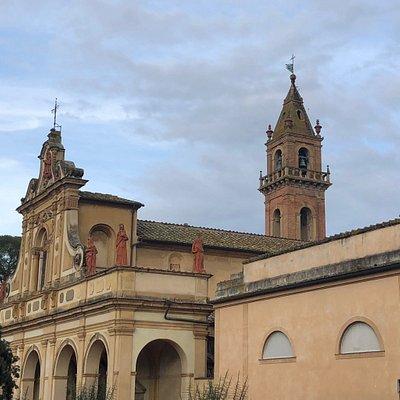 La Chiesa di Santa Verdiana è uno dei pochi esempi dell'architettura e della decorazione Fiorentina tardo-barocca