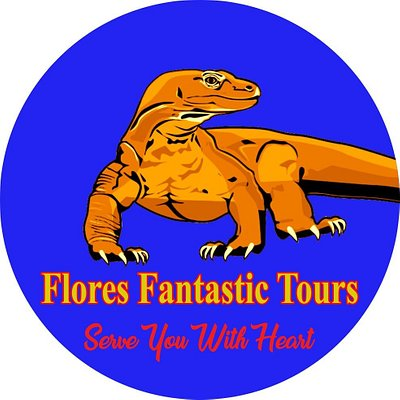 This our official logo of Flores Fantastic Tours