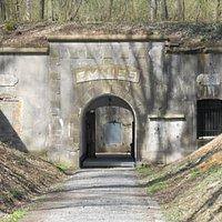Entrance - Fort d'Emines