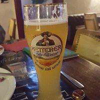 Cerveza de la zona sabor plátano