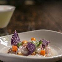 Ceviche + Pisco Sour