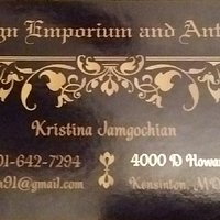 Snapshot of the owner's business card
