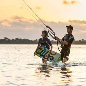 Kite season base / kiteboarding school / Sicily - Lo Stagnone