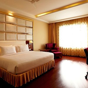 Delux Room with spacious & modern architecture!!