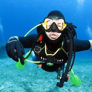 Happy diver!!