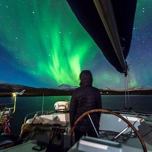 Northern Lights Sailing by Pukka Traveler @dennisstever