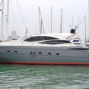 The baby of Nauty 360 Pershing 62 FT.
