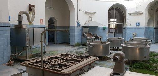 Ex Ospedale Psichiatrico di Maggiano i gas ed i bollitori delle cucine