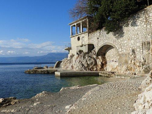 Glavanovo beach, Rijeka