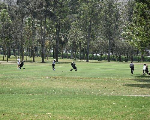 Vista de la 1a vuelta de Country Club La Planicie.
