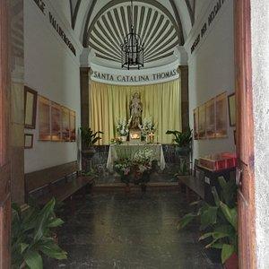 Interior de la Capilla.