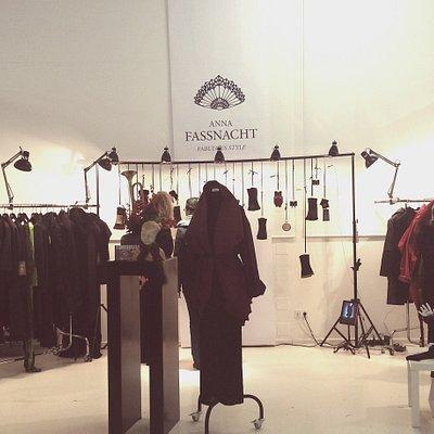 Ausstellung im Textilmarkt im TIM in Augsburg