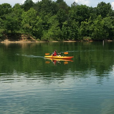 Rental Kayaks available for Nolin Lake and Nolin Dam tailwater to Brownsville.