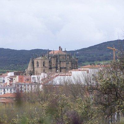 Vistas de la Catedral de Plasencia