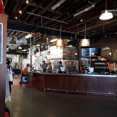 Die kleine Brauerei in Excelsior/Minnesota mit Team