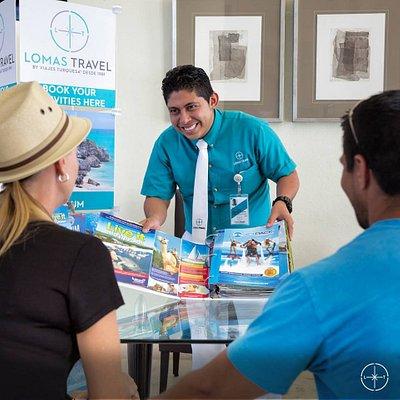 Para nosotros es un placer acompañarle durante su viaje.  ¡Gracias por confiar en Lomas Travel!
