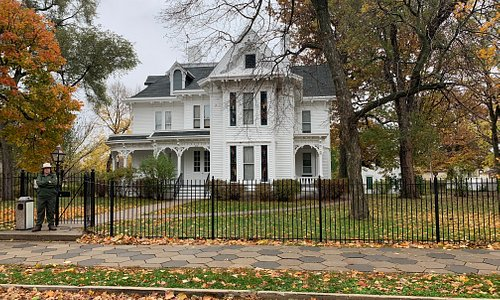 Truman's family home where he lived before and after his term as President.