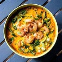 Thai garnéla leves