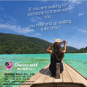 If you are waiting for someone to travel with you.. you may end up waiting a life time! Explore new you Explore new location!