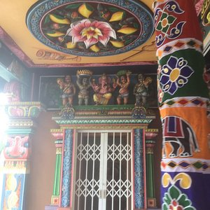 Tamil temple in Port Louis