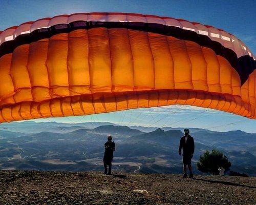 Earlymornign mountain flights