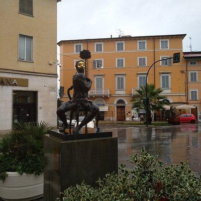 Statua in Bronzo di Arlecchino