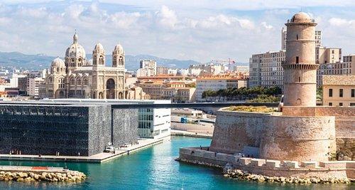 Le Mucem à Marseille à 15 minutes