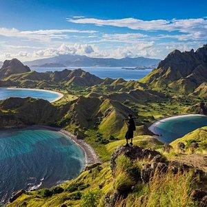 Spectacular Panorama of Padar Island
