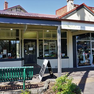 We are located between The Grand hotel and the Healesville Hotel.