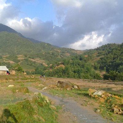 Ý lình Hồ village, This is Sa Pa districk, Lào Cai Province, Việt Nam