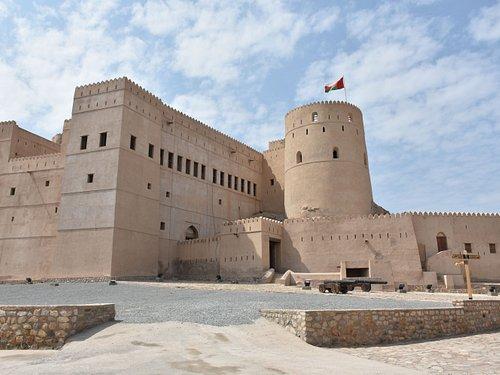 Innenhof Fort Al Rustaq