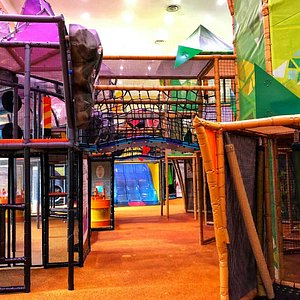 Rainy day play venue for the kids