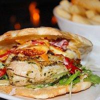 Moroccan Chicken Sandwhich
