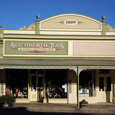 Our store in beautiful Ford Street, Beechworth