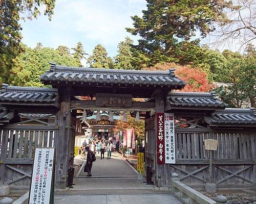 入り口門付近の風景