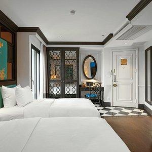 Garden suites twin room
