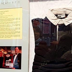 La maglia della partita fantasma, non possiamo dirvi il perché... dovrete visitare il museo per questo!