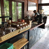 Great spot to cool down with air conditioning and real coffee. We were overjoyed to find this place on our recent trip to Uttaradit.