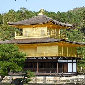 "Kinkaku-ji ""Golden Temple"" in Kyoto"