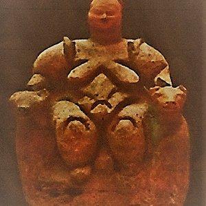 Statuetta ritrovata nel sito di Catalhoyuk