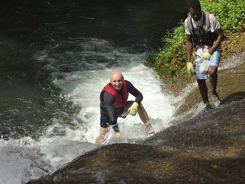 Cascading Mount Hope Waterfall