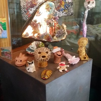 some of the found objects in the museum
