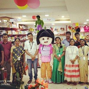 Rahamath India Supermarket Staffs