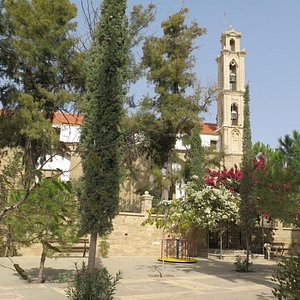 church from playground