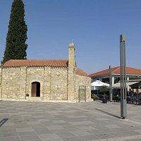 The little church in Kiti square