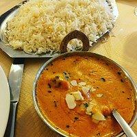 Poulet Shai Korma et riz !
