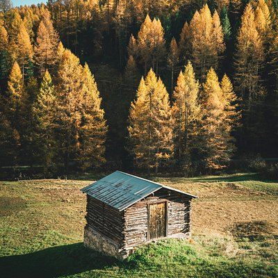 Val Federia in autunno