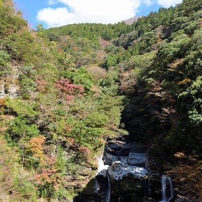 紅葉と大轟の滝
